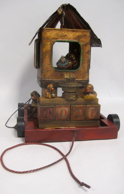 "front of ""Cartography Reliquary for Home"""