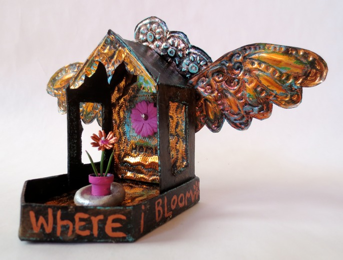 Home is where I Bloom Reliquary