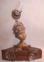 "Reliquary for the Voice of Inner Wisdom;22"" by 17""; $1200.00"